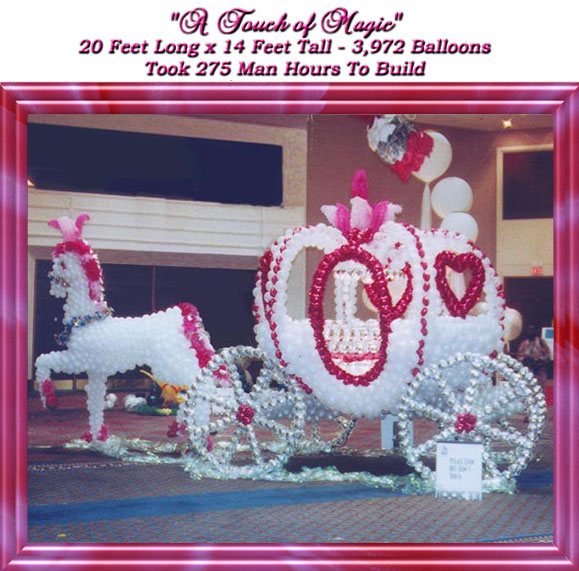 Perfect Cinderella Carriage Balloon Arch 579 x 571 · 103 kB · jpeg