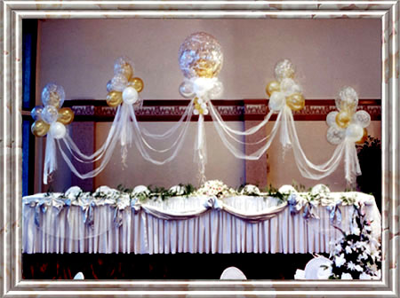 Wedding Decorations Head Table